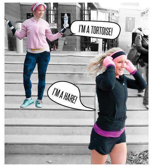 melissa & quinn run